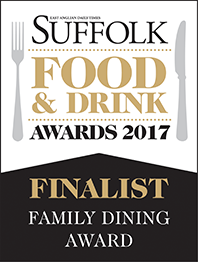 Suffolk Food and Drink Awards Finalist 2017
